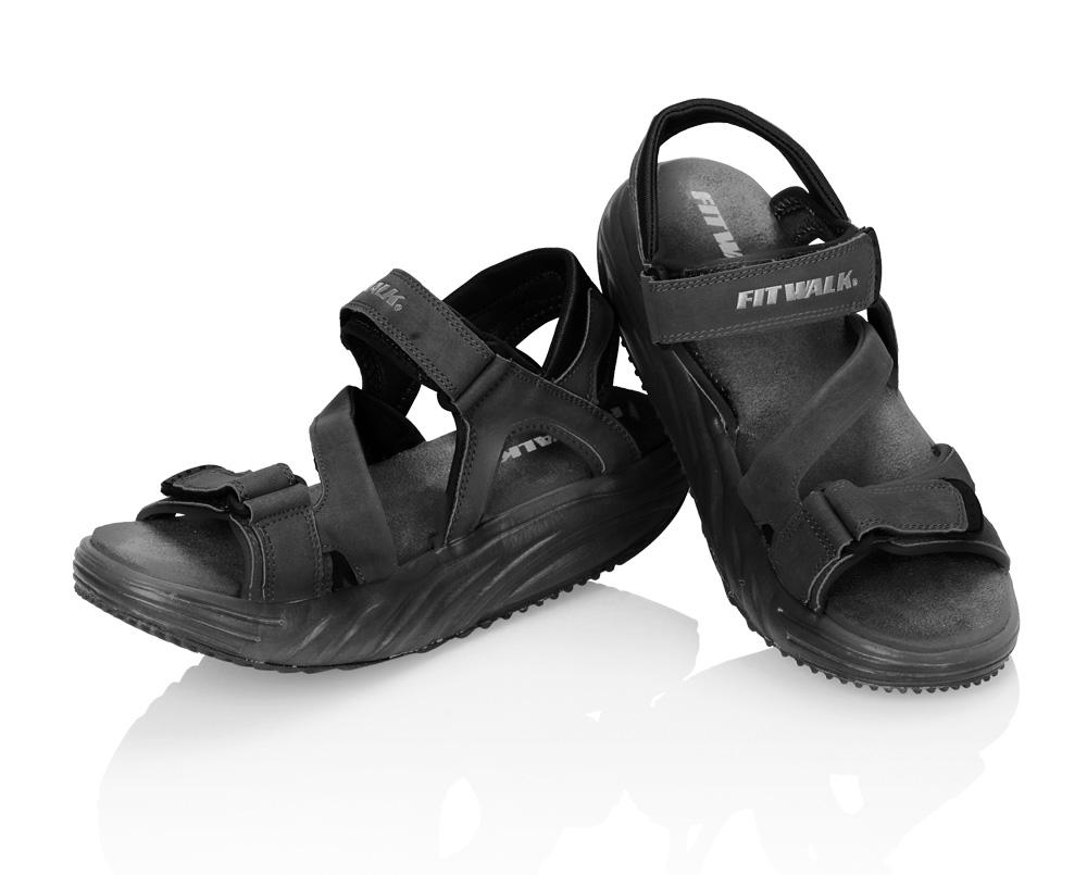 Fit Walk Zeštíhlující sandály FIT WALK černé