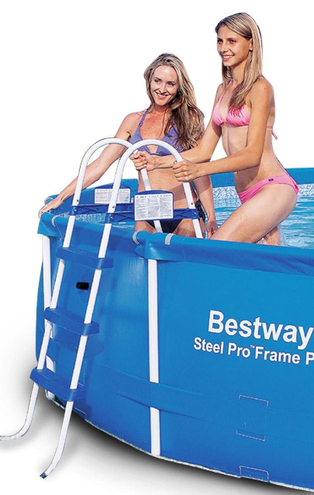 Bestway Schůdky k bazénu 107 cm