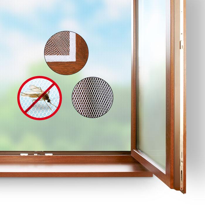 HomeLife Okenní síť proti hmyzu