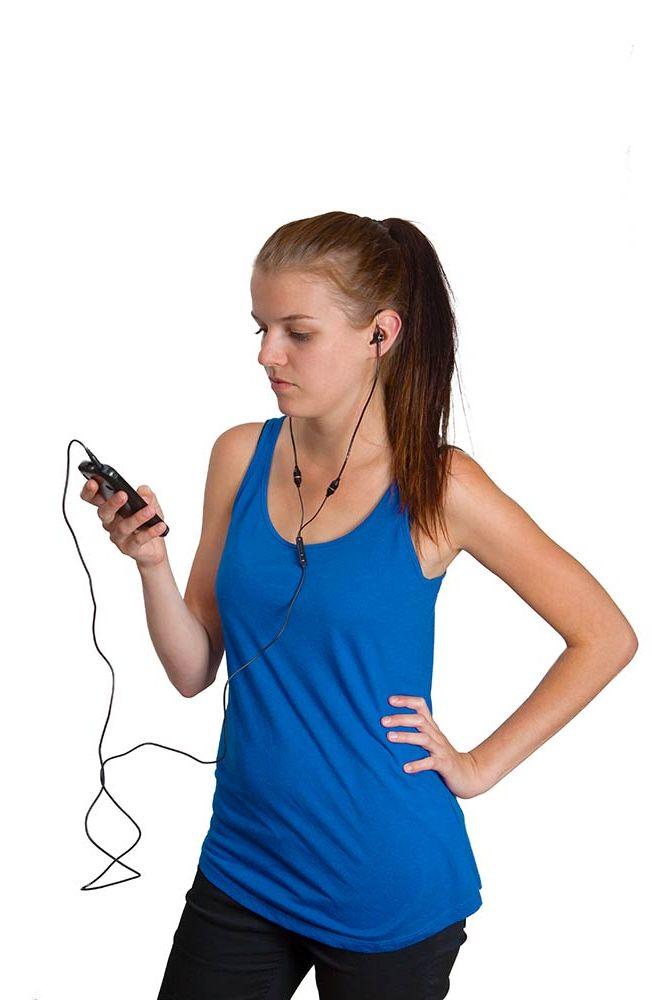 Platinium Bezpečná stereo sluchátka 3,5 mm FS01