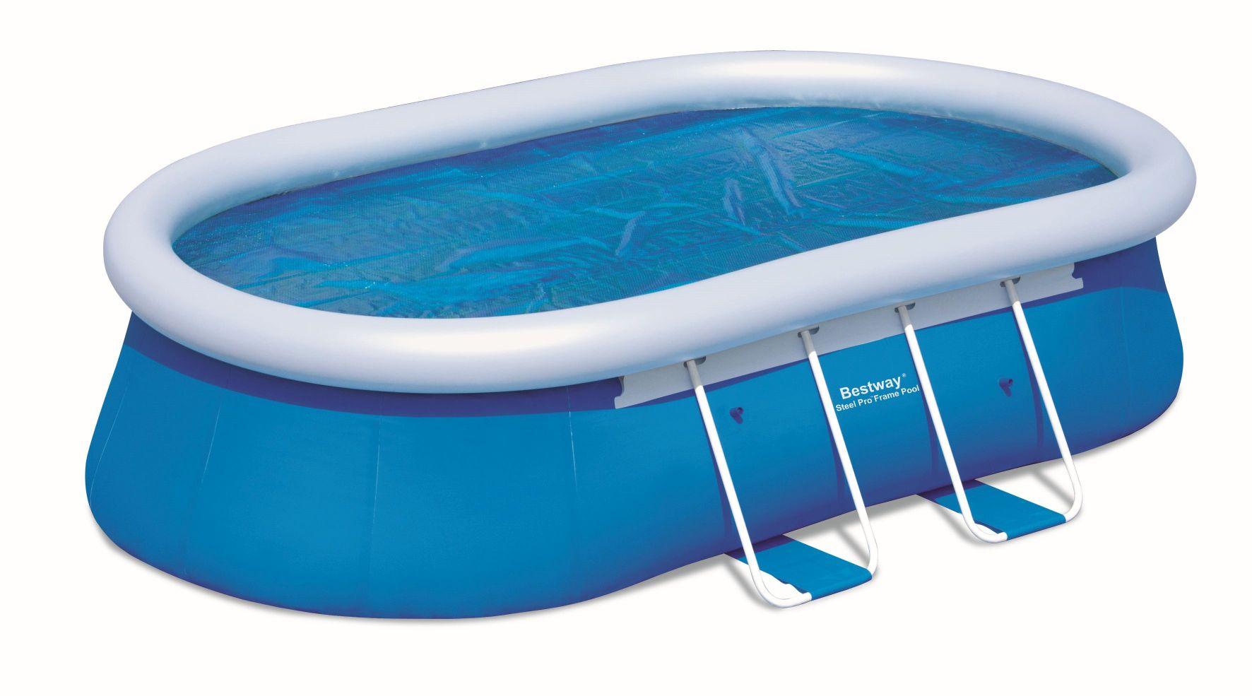 Bestway Solární plachta na oválný bazén 610x366 cm