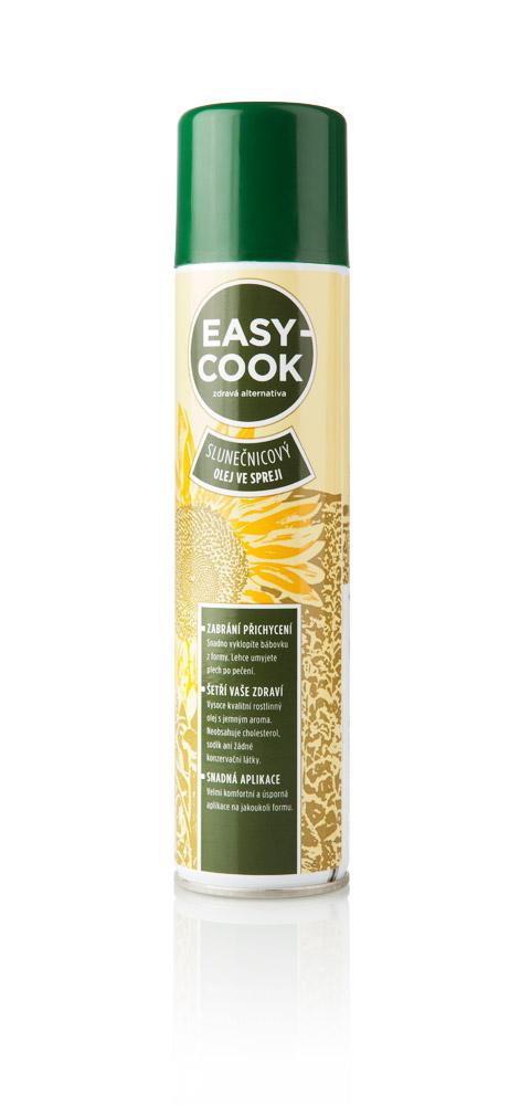 Spanjaard Slunečnicový olej ve spreji EASY COOK