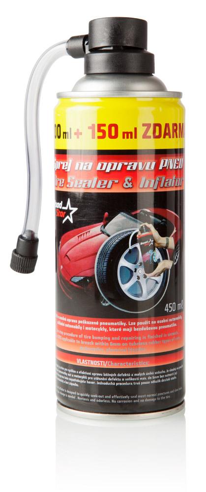 Road Star Sprej na opravu pneumatik 450 ml