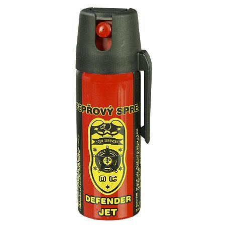 Pepřový sprej Defender Jet 50 ml