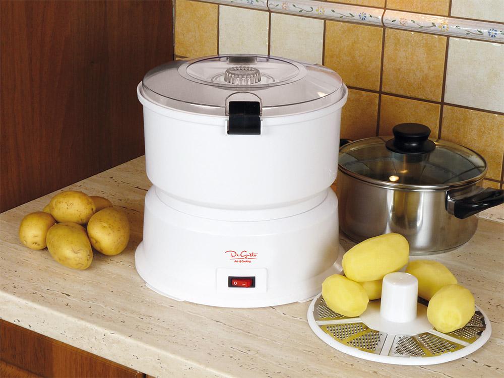 De Gusto Stroj na škrabání brambor