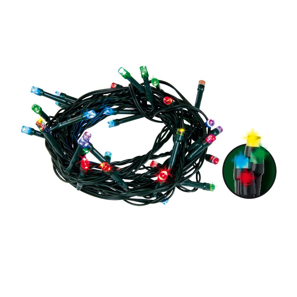 Emos LED vánoční světelný řetěz, multicolor