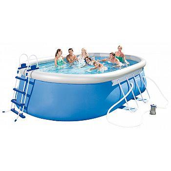 Bazén rodinný oválný 488 x 305 x 107 cm