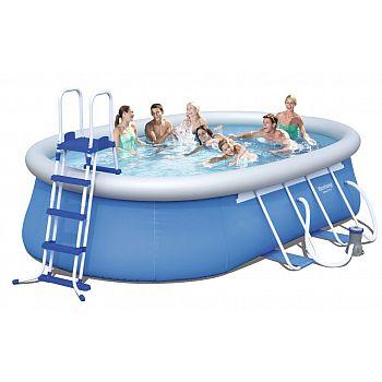 Bazén oválný 549 x 366 x 122 cm