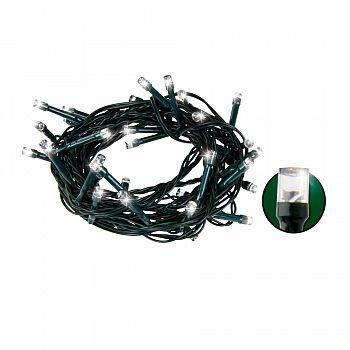 LED vánoční světelný řetěz, bílá