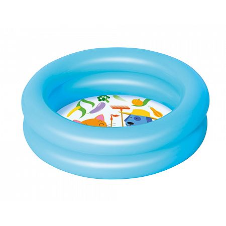 51061 Dětský bazének Kiddie 61 x 15 cm modrá, modrá