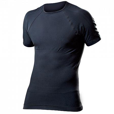Pánské funkční triko krátký rukáv, antracit  XL