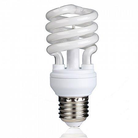 Ionizační žárovka E27, 12W nebo 15W, studená - bílá