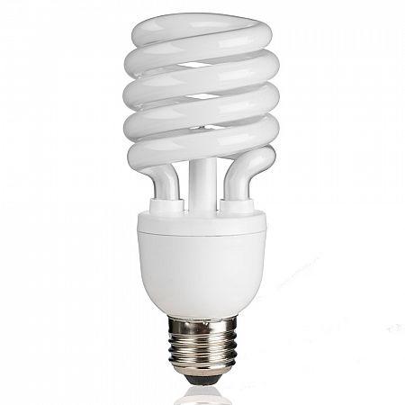 Ionizační žárovka E27, 20W nebo 25W, studená - bílá