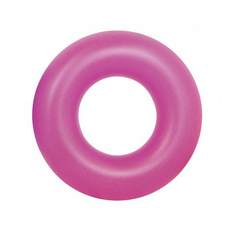 36077 Nafukovací kruh Fluorescent 91 cm zelený, zelená