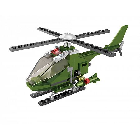 Logická stavebnice LOGIS helikoptéra 85 ks