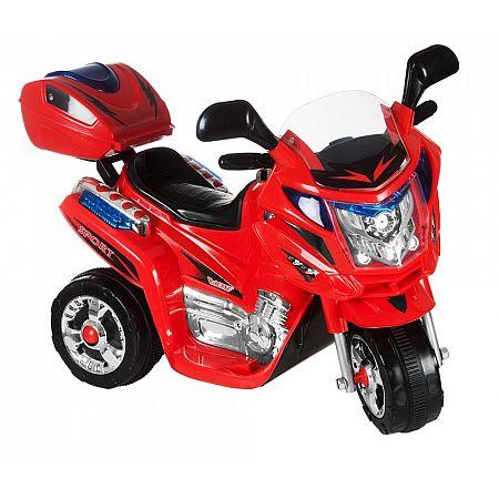 Dětská motorka Rallye, červená