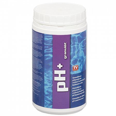 Bazénový pH plus granulát 1 kg Clean Pool
