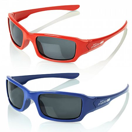 Polarizační brýle Kids, červená