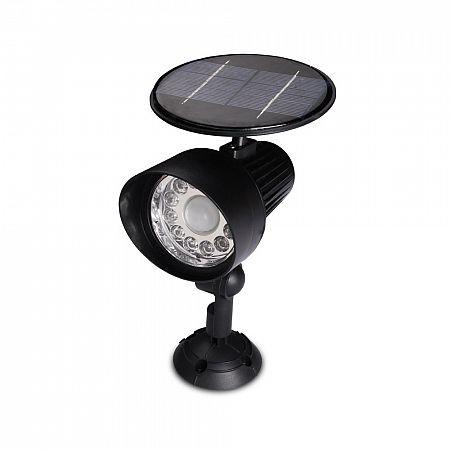Solární bezpečnostní světlo NS7001, černá