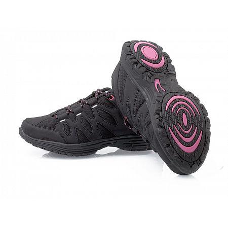 Sportovní obuv Fit Walk černo-fialové, fialová  36  vel.