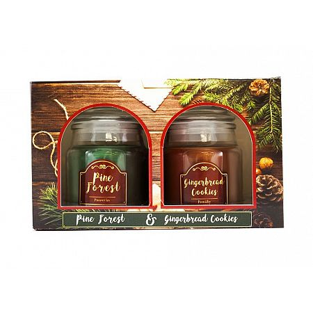 svicka duo pine-forest ginger-cookies 85g