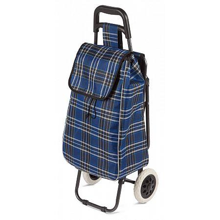 Nákupní taška + sedátko 3v1 38 litrů, modrá
