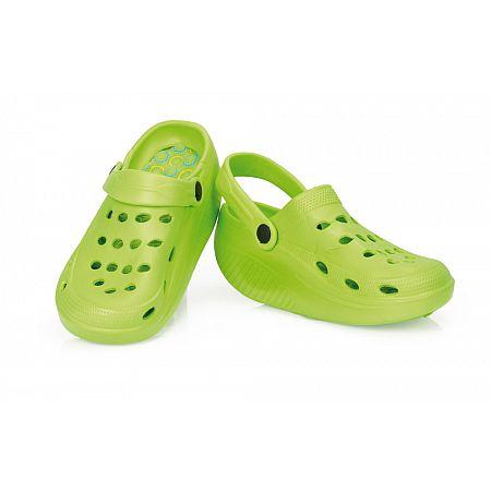 Zeštíhlující sandály FIT, zelená  40  vel.