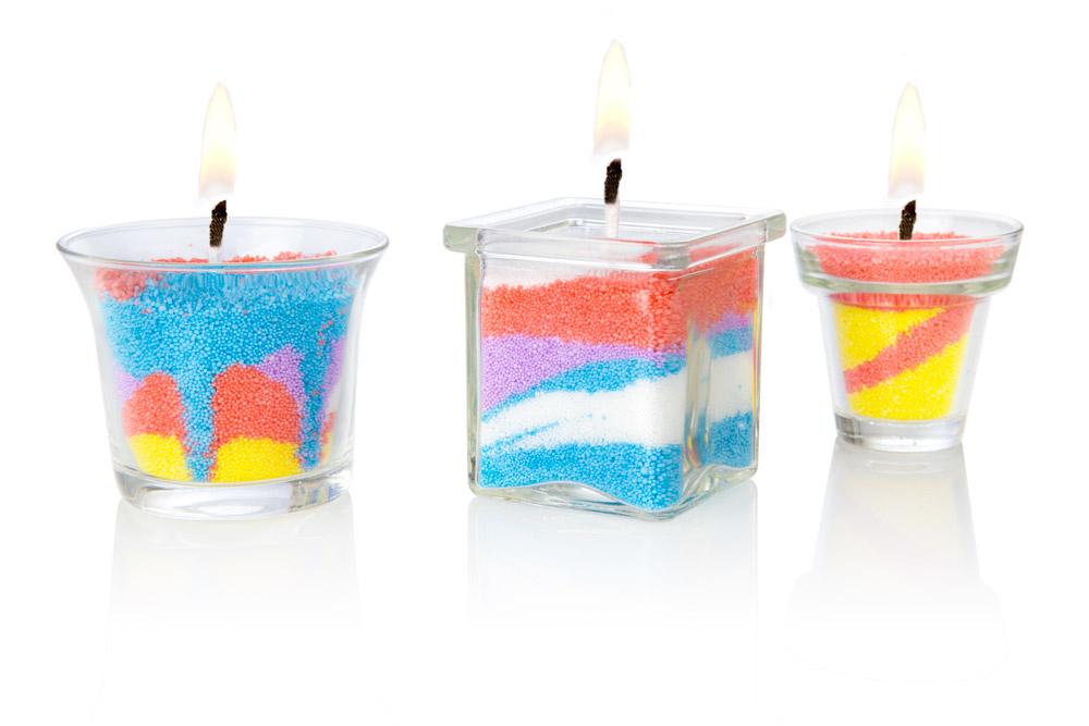 Kreativní sada výroba svíček